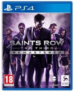 Saints row 3 the third remaster pl ps4 ps5