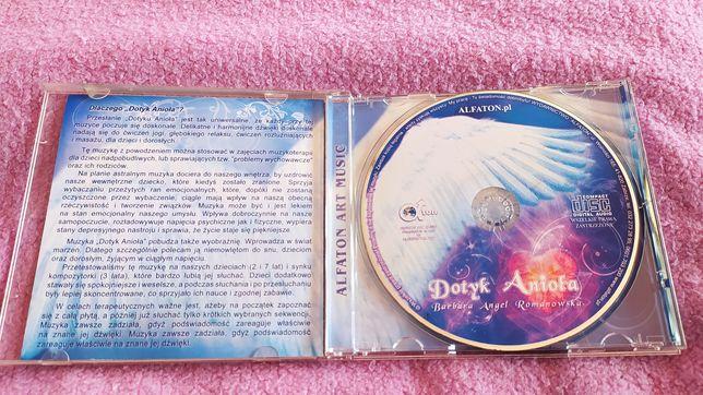 """Muzyka relaksacyjna """"Dotyk Anioła"""" płyta CD"""