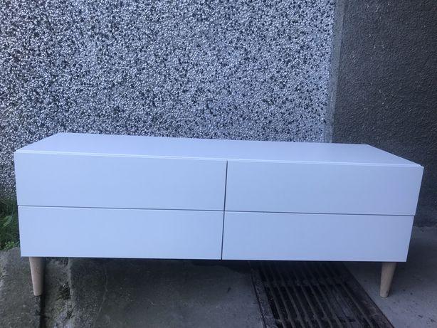Szafka rtv komoda ikea biała 4 szuflady