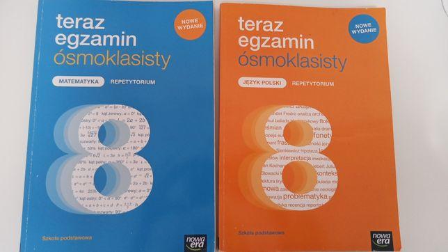 Repetytorium klasa 8 j.Polski, matematyka