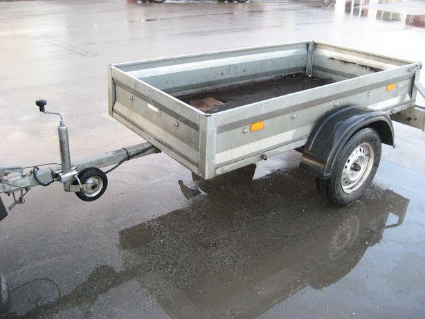 Niemiecka przyczepka przyczepa samochodowa lekka 750kg Stedele MST610