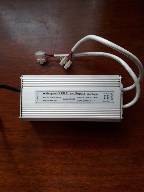 Блок питания LED .IP 67.12В.5А.