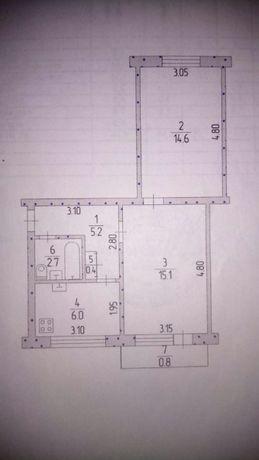 Продам 2-комнатную квартиру р-н 40 лет