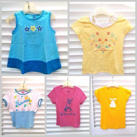 T-shirts Menina Criança 1 / 2 Anos e 6-9 Anos Verão