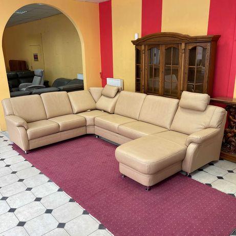 Новый кожаный диван раскладной диван Германия