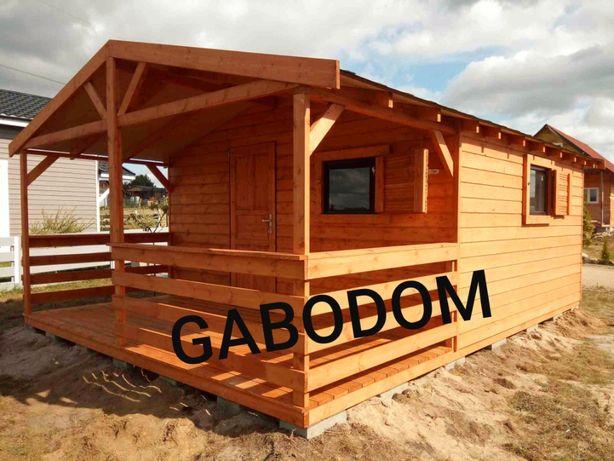 Domek drewniany letniskowy 27m2 MiRO domki drewniane ogrodowe altana