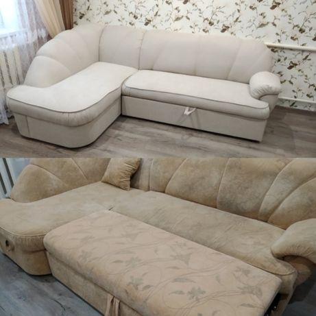 Детская мебель, диван, кресло перетяжка