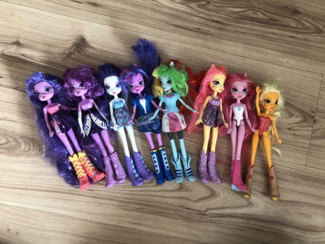 Zestaw 8 lalek Equestria girls