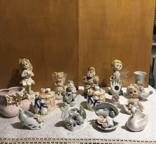 Bibeloty z porcelany