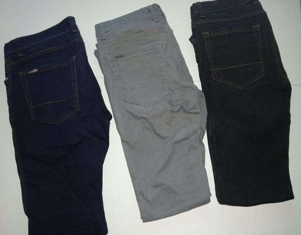 3 x Spodnie Zara Man. Stan bardzo dobry. EUR 38