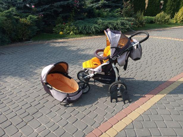 Wózek x lander spacerówka + gondola