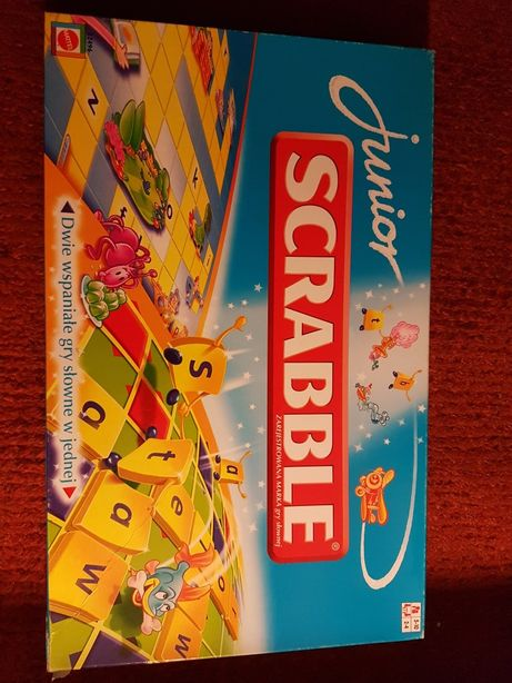Gra Scrabble junior Mattel