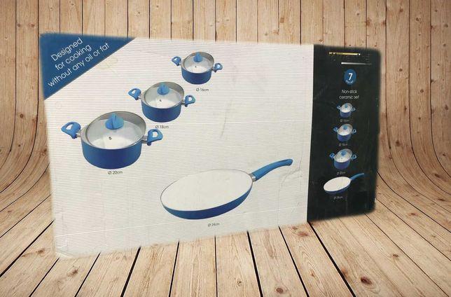 Набор Кастрюль + сковорода Германия 3+1 керамика Индукция