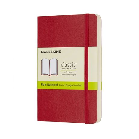 Soft Plain Classic by Moleskine Red 9/14