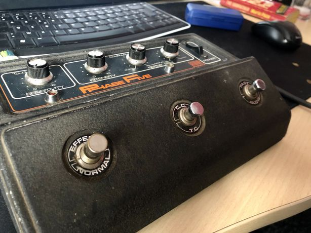 Efekt gitarowy Roland Phase Five AP-5 lata 70, VINTAGE
