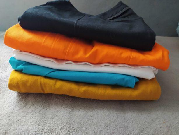 Paka ubrań, duże rozmiary, l-xl, spodnie, marynarka, bluzka,