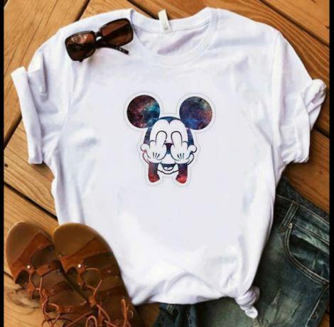 Koszulka T-shirt damska myszka Miki mini S-XXL Vintage Vogue