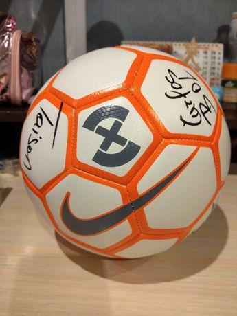 Мяч Nike Strike X с автографами Шахтёра