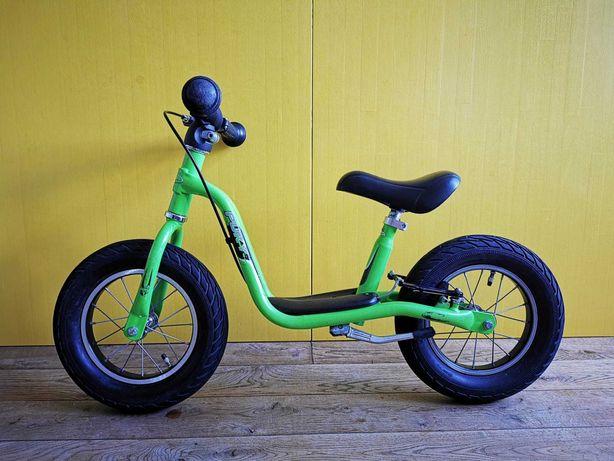 Rowerek biegowy   Puky LR XL   zielony   b. ładny z hamulcem i nóżką