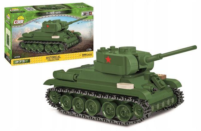 Klocki Cobi 2702 Radziecki czołg średni T-34-85