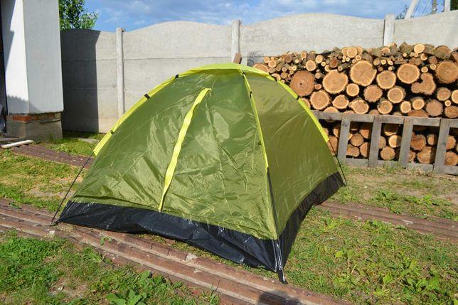 Палатка 2-х местная. Новая. С сеткой от комаров!