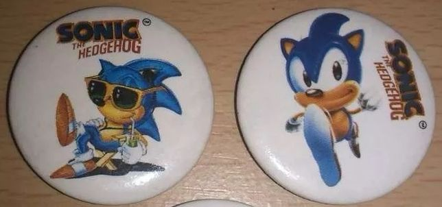 Sonic the Hedgehog - Panrico (Anos 90)