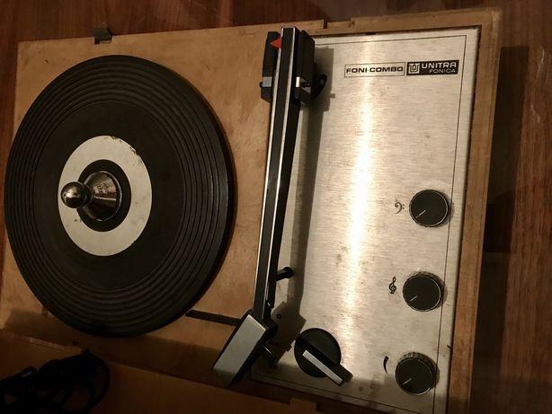 unitra fonica foni-combo vintage gramofon
