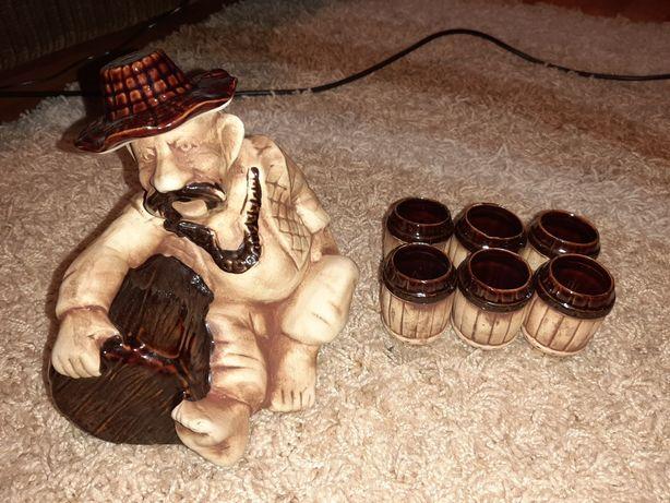 Сувенирный набор козак бутылка и стопки