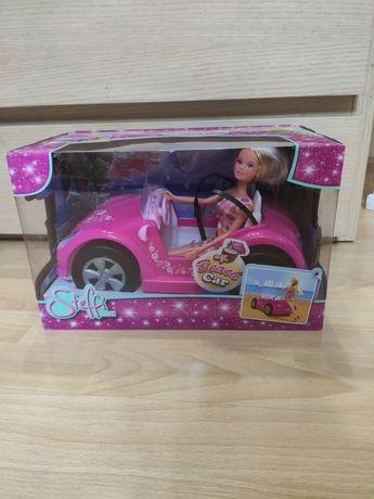 Nowy samochód Barbie kabriolet+ lalka
