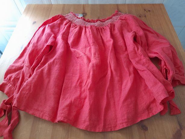 Camisola de senhora rosa