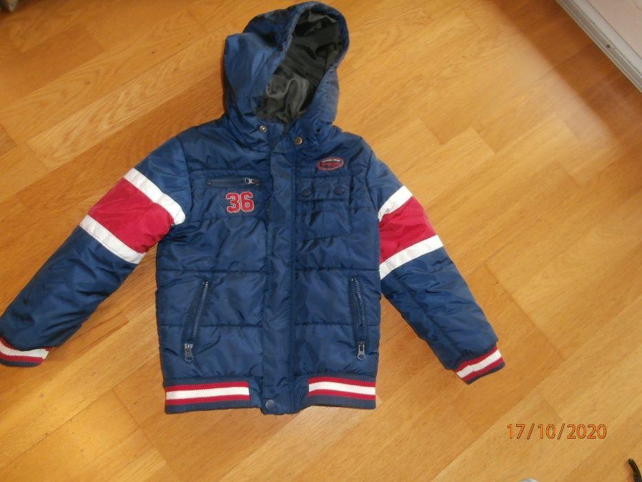 Sprzedam kurtkę zimową i bluzę 5-10-15 rozm.116 cm Częstochowa - image 1