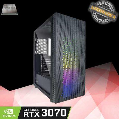 Computador AMD 5600x com RTX 3070