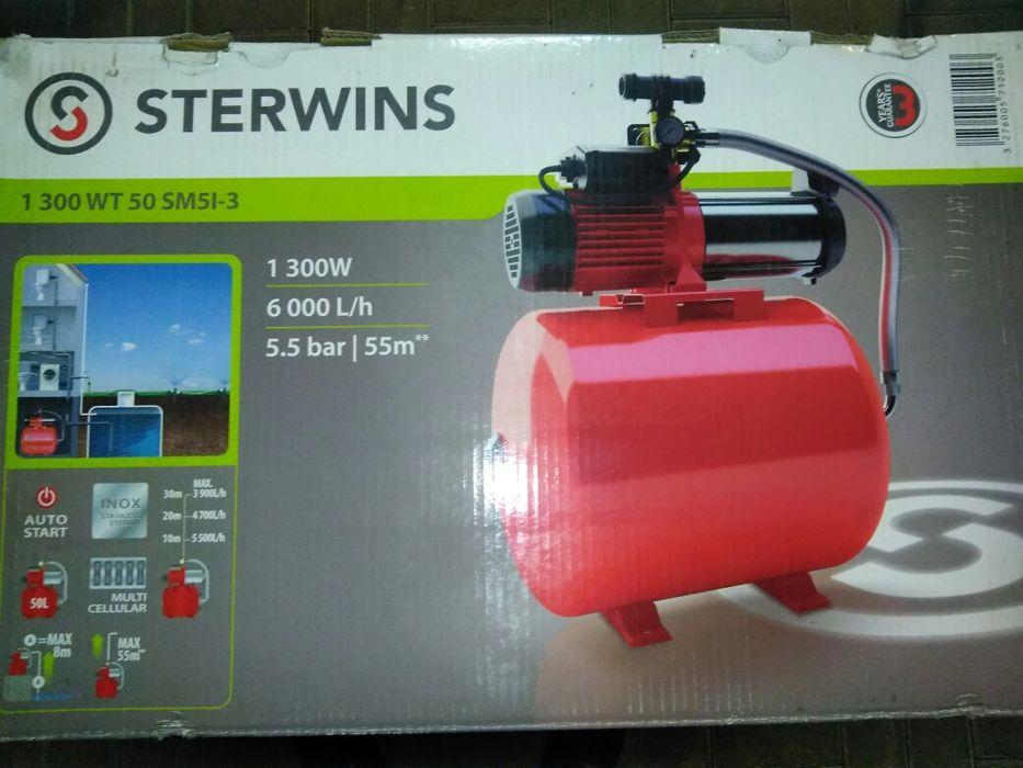 Hydrofor 1300 W 6000 l/h 50 l STERWINS Gryfino - image 1