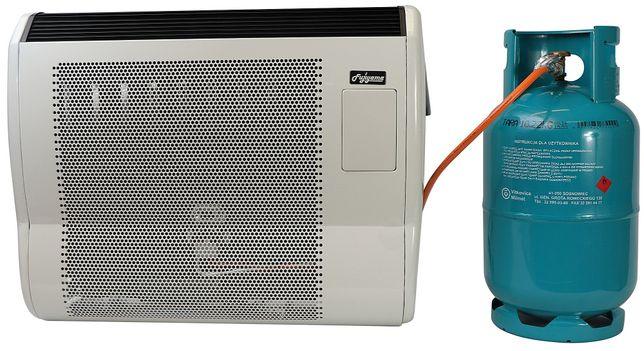 Ogrzewacz Piecyk gazowy Konwektor Moc 5 kW Wyrzut Spalin na Zewnątrz