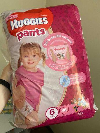 Памперсы Huggies ultra comfort pants for girls 6 (15-25 кг) Чехия