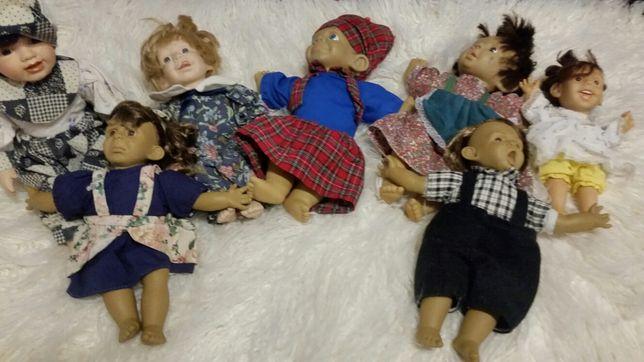 Zestaw brzydkie piękne lalki monster horror drama chucky 7 sztuk