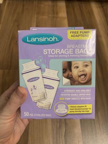 Пакеты для заморозки грудного молока Lansinoh