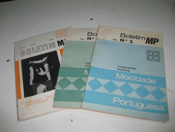 Boletim mocidade portuguesa 1964 e 1965