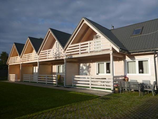 Całoroczne Domy nad Morzem Jantar wynajem domki drewniane