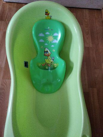 Ванночка с подставкой-горкой