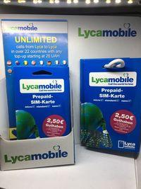 LycaMobile Starter DE Niemcy SIM Card Prepaid