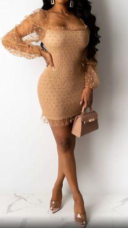 Sukienka Lou Louis Vuitton christian Louobutin Gucci 38 40 m L