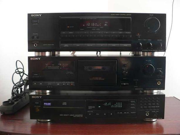 Sony, duża wieża stereo