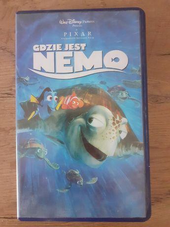 Kaseta vhs Gdzie jest Nemo