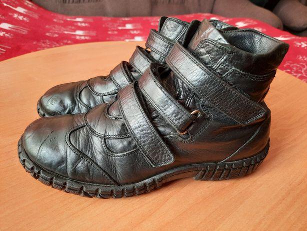 Кожаные ботиночки весна-осень.