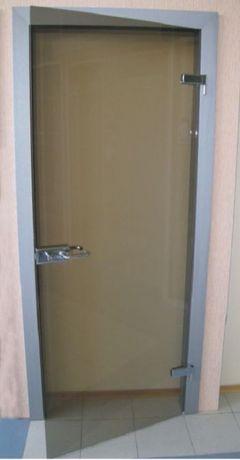 Ремонт стеклянных дверей у заказчика