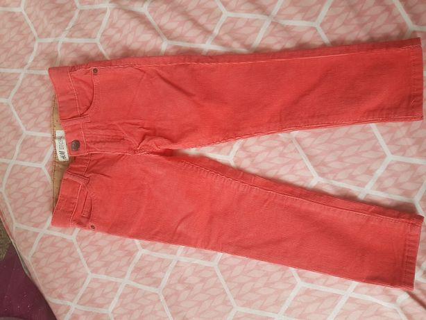 Spodnie sztruksowe H&M rozmiar 92
