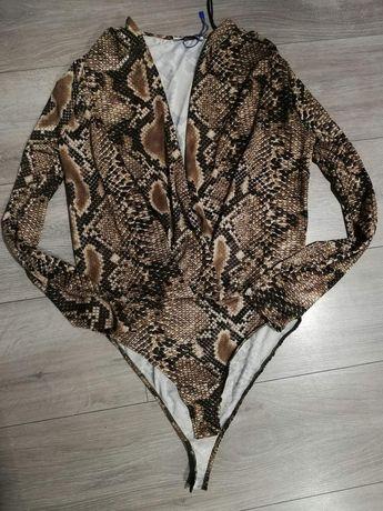 Body, wąż, print, Zara