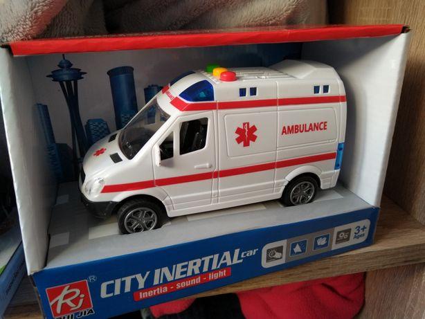 Auto karetka z sygnałami NOWA ambulans