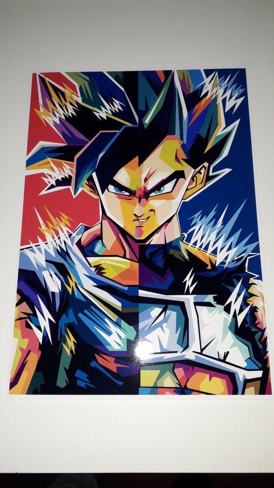Poster A4 Dragon ball Cantar-Galo E Vila Do Carvalho - imagem 1